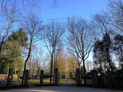 Kunstinstalltion im Schlosspark