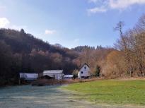 Blick zur ;Mestrenger Mühle