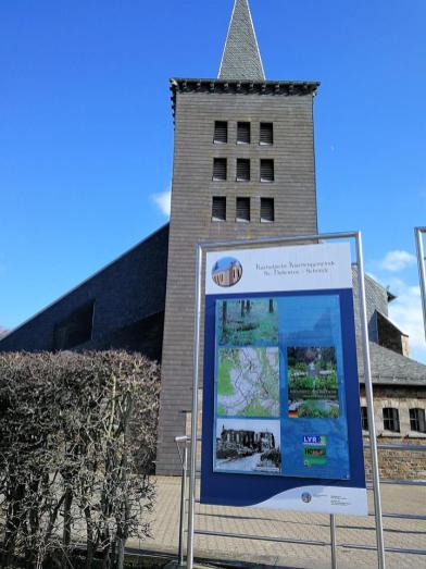 """Start an der Kirche """"St. Mokka"""" in Schmidt"""