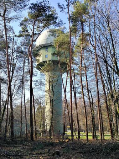 Das HADR-Radar der Luftwaffe im Uedemer-Hochwald