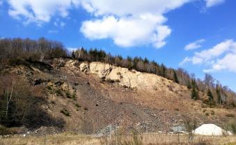 Steinbruch zwischen Steffeshausen und Burg-Reuland