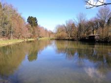 Teich an der Stinderbachmühle