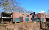 Rückseite von Haus Lange