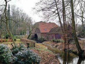 Wassermühle vor der Burg