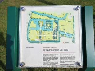 Überblick über die Schloss- und Parkanlage