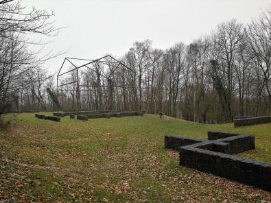 Rekonstruktion der Römischen Villa am ehemaligen Landgut Sint Jansberg