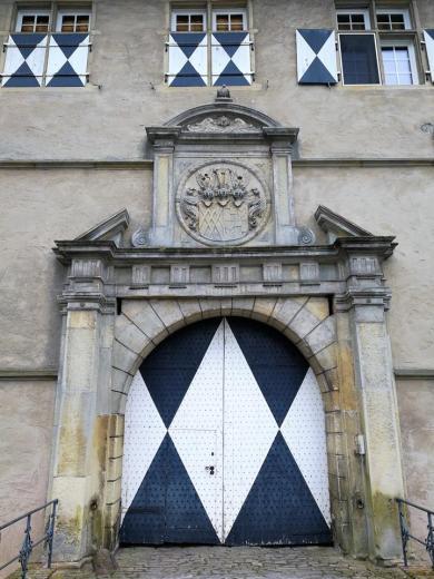 Portal der Hauptburg