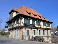 Die alte Schlossmühle, heute ein Restaurant