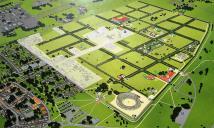 Aufbau des Archäologischen Parks Xanten