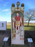 Rönische Grabsteine außerhalb der Stadmauern