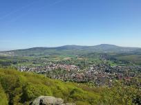 Blick vom Staufen Richtung Königstein und Feldberg