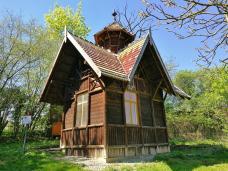 Das Taubenhaus oberhalb des Bahnhofs von Eppstein