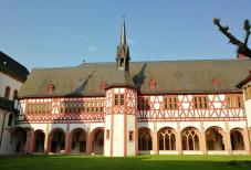 Der Bibliotheksbau des Klosters