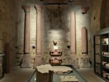 Im Lipidarium werden Steinfragmente aufbewahrt und präsentiert