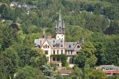 Villa Andreae von der Burg aus gesehen (Foto Karsten11 | http://commons.wikimedia.org | Lizenz: CC BY-SA 3.0 DE)