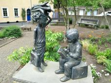 Skulptur in der Pfarrgasse