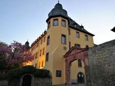 Eingangsportal von Schloss Vollrads
