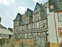 Der Klunkhardshof, eines der ältesten Gebäude in Rüdesheim