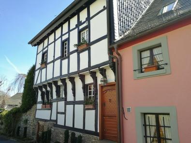 Fachwerkhaus von 1600 auf der Wildenburg