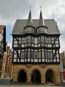 Das Rathaus, Vorderansicht