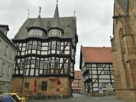 Das Rathaus, rückwärtige Ansicht