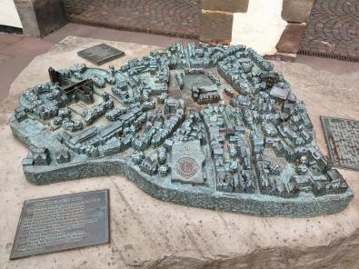 Modell der historischen Stadt Bad Hersfeld