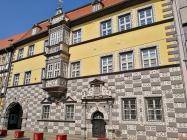 """Haus """"zum Stockfisch"""" mit dem Stadtmuseum Erfurt"""