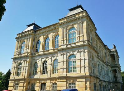 Das Herzogliche Museum, Seitenansicht