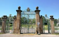Eingangstor zur Oramgerie