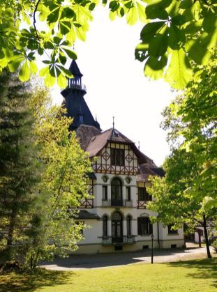 Das Jagschloss Sankt Meinolf, Haupthaus