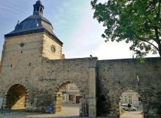 Stadtmauer mit Innerem Frauentor von Westen gesehen