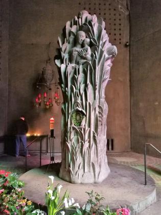 Die Marienstele mit dem Gnadenbild