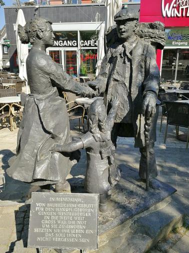 Skulptur am Marktplatz