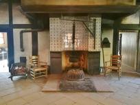 Typische Kochstelle in einem Hofgebäude