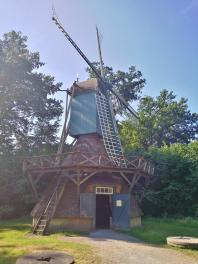 Kokerwindmühle aus Edewecht (Landkreis Ammerland) aus dem Jahr 1879