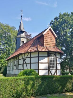 Fachwerkkirche aus Klein-Escherde