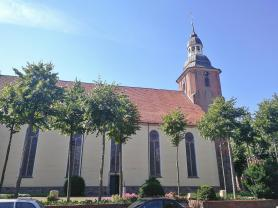St. Andreas-Kirche, Seitenansicht