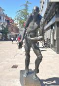 Skulptur in der Innenstadt