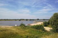 Ausfahrt vom Wassersportgebiet De Bijland in den Rhein