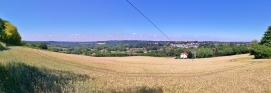 Panoramablick über das mittlerer Ruhrtal