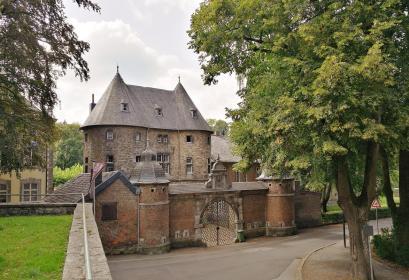 Rückseite der früheren Abtei