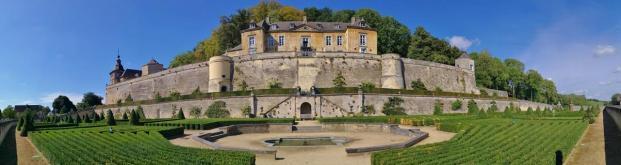 Panoramabild aus dem Schlossgarten
