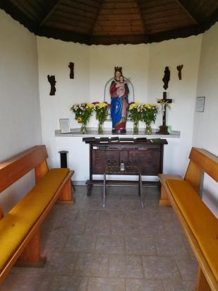 Innenraum der Röder-Kapelle