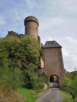 Zugang zum Schloss