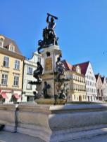 Herkules-Brunnen in der Maximilianstraße