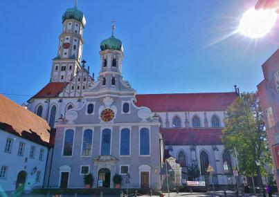 Evangelische Ulrichskirche und Basilika St. Ulrich und Afra