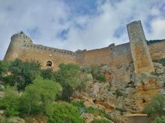 Unterhalb der Festung