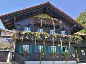 Haus auf der Shatzbergalm