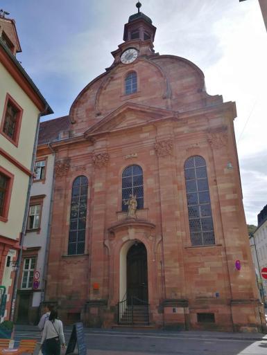 Front der Heiliggeistkirche