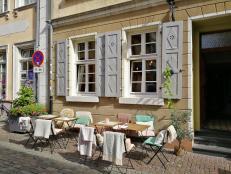 Hübschs Straßenresturant in der Altstadt